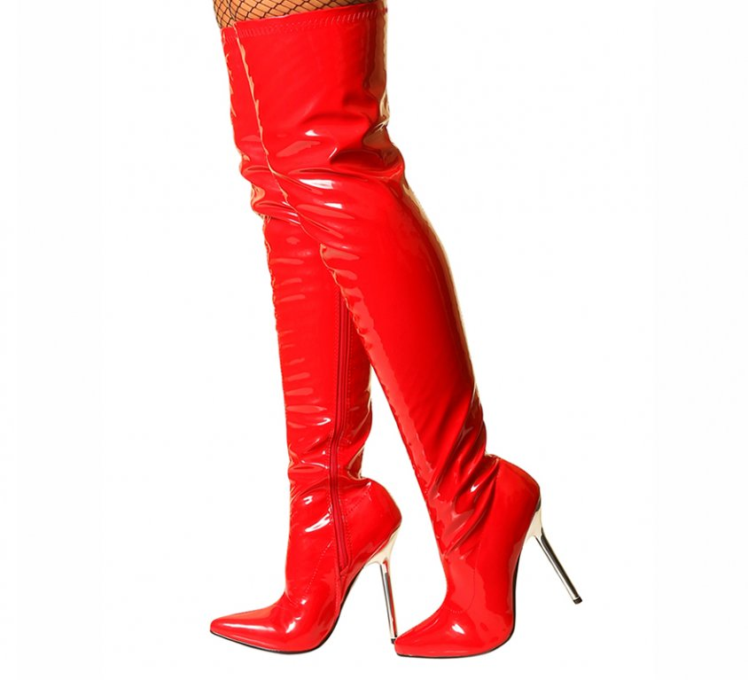 Isabella – Red Patent